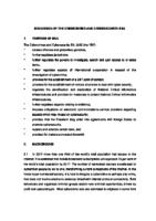 Discussion Document 2015