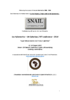 Final Call for Papers & sponsorship – 2014 – final