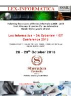 Lex Informatica 2015 – Invite and Registration Form