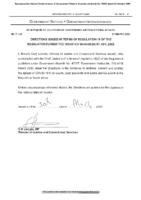 2020-03-31 – Gazette – Disaster Management – Directions ito regulation 1…