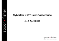 CYBERLAW – ICT LAW CONFERENCE