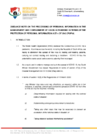 LATEST FINAL. GUIDANCE NOTE ON COVID-19. VERSION0.1.1