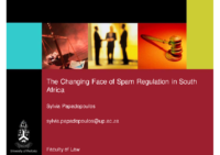 The Changing Face of Spam Regulation in SA_SP