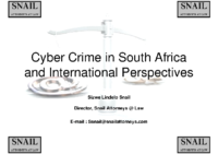 cyber crime in South Africa and african perspectives